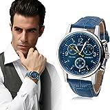 Willtoo(TM) Luxury Fashion Crocodile Faux Leather Mens Analog Watch Watches