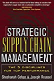 img - for Strategic Supply Chain Management by Shoshanah Cohen (2004-08-01) book / textbook / text book