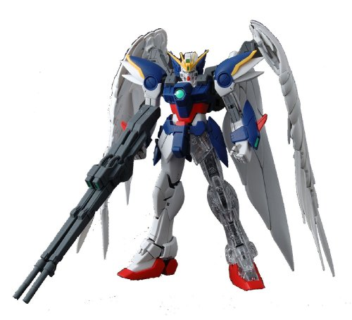 Gundam XXXG-00W0 Wing Gundam Zero with Extra Clear Body parts MG 1/100 Scale