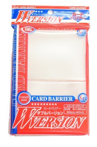 KMC - KMC 80 pochettes Card Barrier 100W transparent - 1