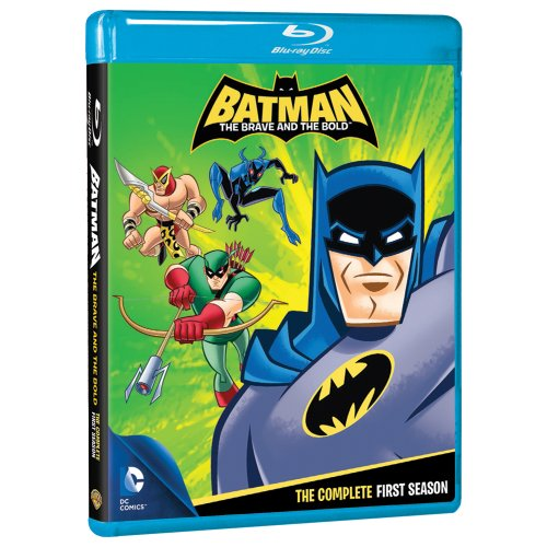Batman Brave & The Bold: The Complete First Season (BD) [Blu-ray] at Gotham City Store