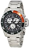 NEW INVICTA 11284 PRO DIVER MEN'S CHRONO WATCH BLACK DIAL STIANLESS STEEL WATCH
