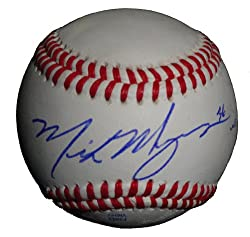 "Boston Red Sox Mike Myers Autographed ROLB Baseball Featuring ""WS Champs"" Inscription! Proof Photo"