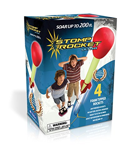The Original Stomp Rocket: Ultra 4-Rocket Kit