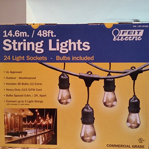 Feit Electric String Lights Enchanting Cheap Feit Electric 600ft 60060m Outdoor Lightstring Buy Cheap