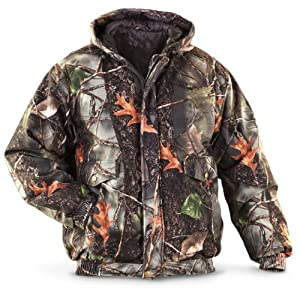 World Famous Sports Hooded Jacket Burley Camo, BURLEY, M