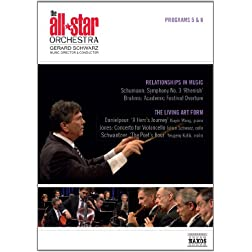 All Star Orchestra: Programs 5 & 6: Relationships in Music & The Living Art Form