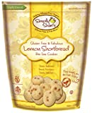 Simply Shari's Gluten-free Lemon Shortbread Cookies, 6.5-Ounce (Pack of 4)