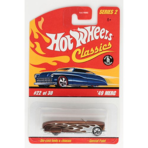 49 Merc (Spectraflame Dark Gold) 2005 Hot Wheels Classics Series 2