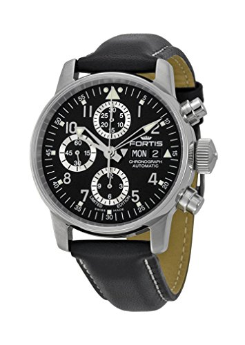 fortis-flieger-classic-automatic-chronograph-steel-mens-watch-black-dial-day-date-5972071-l01