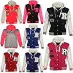 Unisex Kids Baseball R Fashion Hooded...