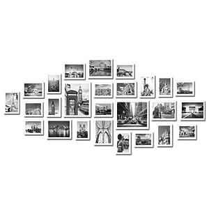 Large Multi Picture Photo Frames Wall Set 26 Pieces Set