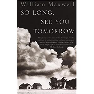 So Long, See You Tomorrow Book Cover