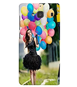 Generic Back Cover For Xiaomi Mobile (Multicolor)
