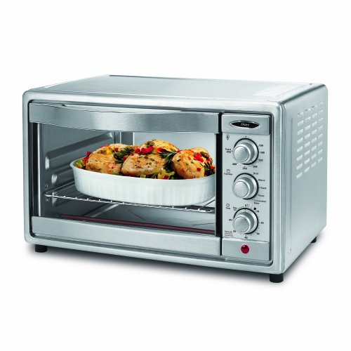 Best Price! Oster TSSTTVRB04 6-Slice Convection Toaster Oven, Brushed Stainless Steel