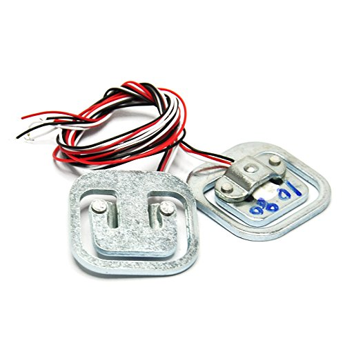 Gikfun 50kg 110lb Half-bridge Weight Sensor Load Cell Strain Gauge Ships for Arduino (Pack of 2pcs) AE1205 (Force Sensor Arduino compare prices)