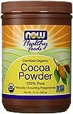 Now Foods Organic Cocoa Powder 12 oz