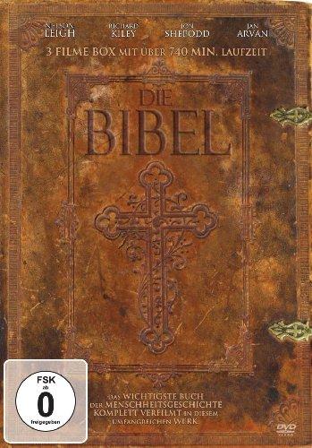 DIE BIBEL - Das wichtigste Buch der Menschheit (3 DVD-Filme-Box - über 740 Min. Laufzeit)