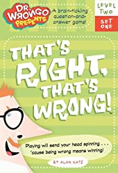 That's Right, That's Wrong! A Fun Learning Card Game