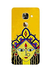 100 Degree Celsius Back Cover for Letv Le 2 (Nav Durga Maa Special)