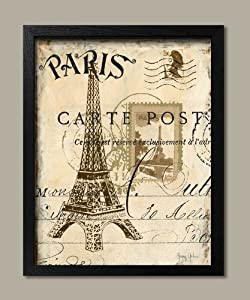 write about paris in french