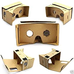 3D ULTRA CLEAR Google Cardboard Valencia Quality 3D VR Virtual Reality Glasses