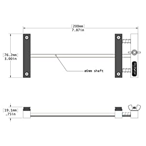Stickvise PCB Vise with Standard Nylon Jaws (Color: Grey)