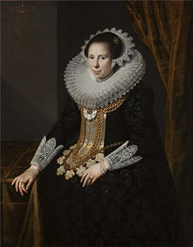 Oil Painting 'Moreelse Paulus Johanna Martens 1625 ' Printing On Polyster Canvas , 18 X 23 Inch / 46 X 58 Cm ,the Best Study Artwork And Home Decoration And Gifts Is This High Definition Art Decorative Canvas Prints