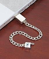 Md Alert Silver Bracelet USB
