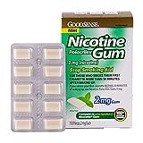 GoodSense Nicotine Polacrilex Gum, Mint, 2 mg Gum, 110 Count