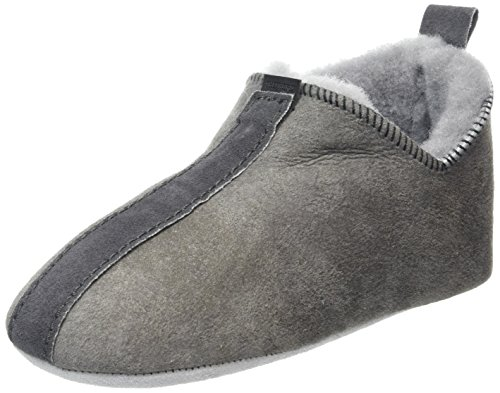 ShepherdViared - Pantofole Unisex per bambini , Grigio (Grey (Antique Grey 21)), 46 2/3