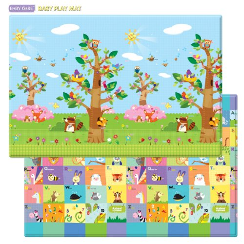 Spielmatte - BABY CARE - Birds in the Trees - Large - 2,1m * 1,4m * 13mm