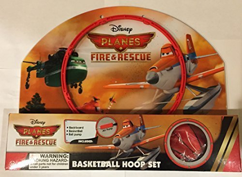 Disney Planes Fire & Rescue Basketball Hoop Set