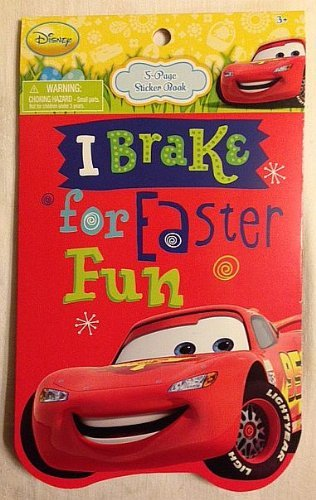 Disney Cars I Brake Stickers - 5 Sheets