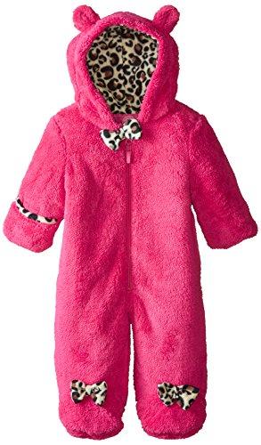 Weatherproof Baby-Girls Newborn Butter Sherpa Fleece Pram, Pink Rose, 6-9 Months
