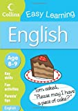 Collins Easy Learning English: Age 8-9 (Collins Easy Learning Age 7-11)