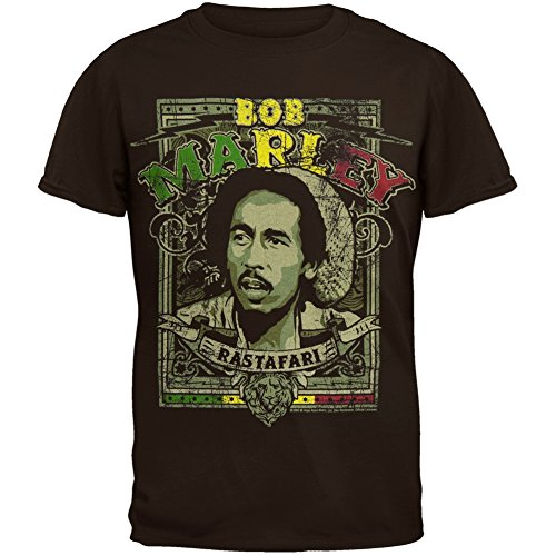 Bob Marley - Rastafari Youth T-Shirt - Youth Small
