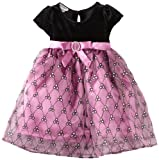 Blueberi Boulevard Baby Girls Infant Velvet Sequin Dress