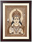Orison Sand Art Photo Frame (Acrylic Board, 35.56 cm x 2.54 cm x 45.72 cm) Lord Rama