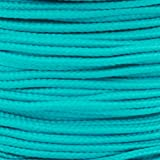 Paracord Planet Micro Cord: (1.18mm Diameter) 125 Feet Spool of Braided Cord - Available in a Variety of Colors Made in the USA (Color: Teal)