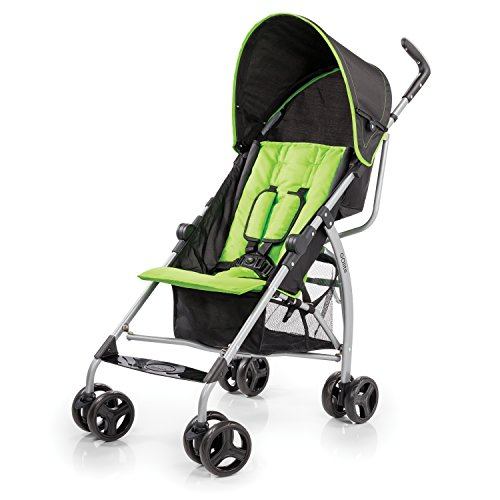 Summer Infant Go Lite Convenience Stroller, Go Green Go front-529494