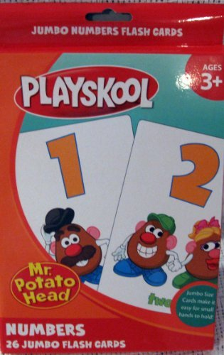 Jumbo Numbers Flash Cards front-1054809