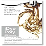 iDye Poly Brown - For Polyester And Nylon Fabrics (Sold By Pearls Drycleaners Ltd)