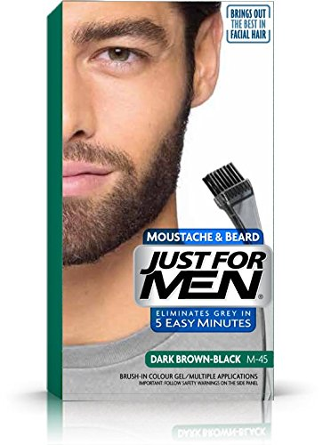 Just For Men M45 Dark Brown For beard, moustache & sideburns