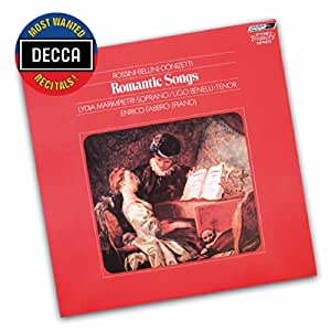 Romantic Songs By Rossini/Bellini/Donizetti (Dmwr)