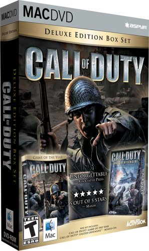 Call of Duty Deluxe Edition (Mac) (Call of Duty, Call Of Duty United Offensive)