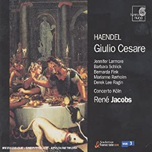 Handel - Giulio Cesare / Jacobs