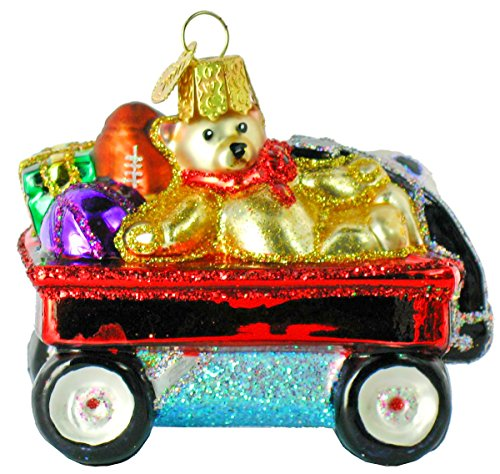 Old World Christmas Toy Wagon Ornament