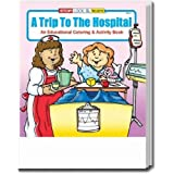 A Trip to the Hospital Coloring and Activity Book Trade Show Giveaway