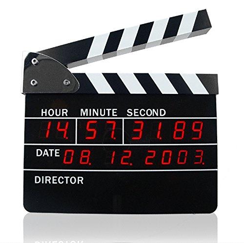 Digital Slate Action Movie Alarm Clock Cool Decoration Idea